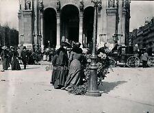 PARIS 1900 - Les Rameaux devant St Augustin - DIV1634