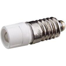 Signal Construct mede5563 5.8mm BIANCO SPIA LED 15-18vac Lampada e5.5