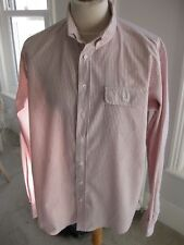 Men's GANT by Michael Bastian Striped Cotton Shirt Size 2XL