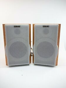 Pair of SONY SS-CEP707 Wood Bookshelf Speakers Tested and in Great Condition