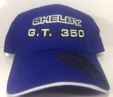 Licensed Carroll Shelby Signature GT350 Cobra Snake Hat Blue Emblem Logo