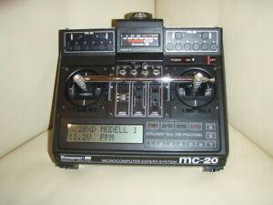 Graupner Sender mc-20 -- 40 MHz -- Sehr guter Zustand
