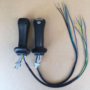Pair Excavator Joystick Handle fit for DX140LC DX140W DX160LC DX170W DX225LC
