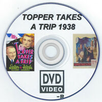 Topper Takes a Trip ~ RARE  Movie DVD 1938 Roland Young you choose shipping