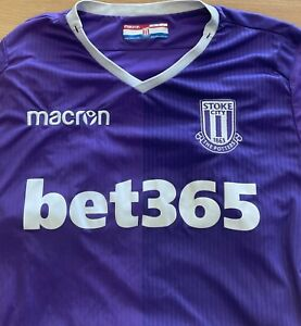 Stoke City Football Shirt - 2018/19 Away - Large - Great Condition