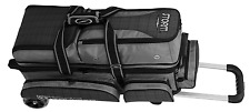 Storm Rolling Thunder 3 Ball Bowling Roller Bag Color Plaid Grey