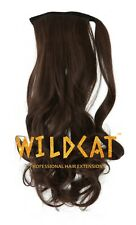 Ponytail Hair Extensions Wrap Natural as Human Curly Mega Long Clip in