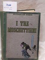 I tre Moschettieri di Alessandro Dumas edizione del 1935
