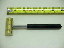 Bearcat No.BAC25 Small Brass Hammer, 4 oz. Aluminum Handled