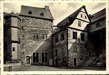 Limburg an der Lahn Hessen Ansichtskarte ~1930/40 Partie im Schloßhof ungelaufen