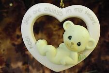 """Precious Moments-#530972 """"1994 You Are Always In My Heart"""" Annual Animal ORN-NEW"""