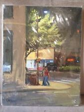 Friday Night People Original Oil Painting by Ron McDowell