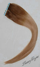 """20""""/52cm 100% Remy Human Hair Super Tape-in Extensions Balayage/Ombre T6/27"""