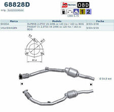 Pot catalytique Skoda Superb 2.5TDI V6 2496cc 120Kw/163cv BDG 8/03>3/08, postéri