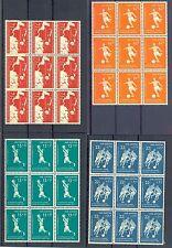 NED ANTILLEN 1957   # 265/68   (  x 9)     KW € 90    ** PF LUXE  FOOTBALL