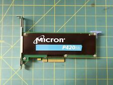 Micron P420m 1.4TB SSD PCIe MTFDGAR1T4MAX RealSSD NVMe HHHL Solid State Drive