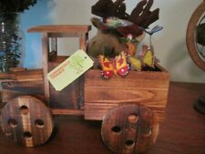 Rustic Antique Truck Wooden Planter