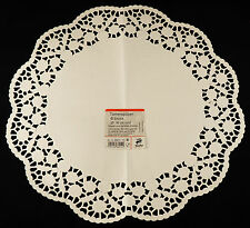 25 x 6 Tortenspitzen = 150 Stück rund aus Papier, Tortenspitze, Tortendeckchen