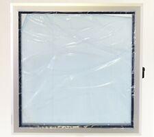 EMKA Aufsatzfenster Sichtfenster Aluminium Acrylscheibe 420x420mm Rahmen 30mm