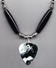 Elvis Presley Signature Photo Guitar Pick Necklace #8