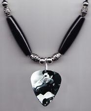 Elvis Presley Signature Photo Guitar Pick Necklace #8
