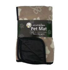Camas de color principal beige de poliéster para perros