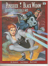 Punisher / Black Widow Spinning Doomsday's Web #1 Marvel Graphic Novel 1992 1ST