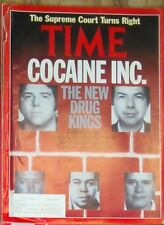 Columbian Cali Cartell NARCOS Drug King Pins Time Magazine 1991 Cocaine Inc RARE