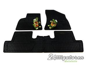 4 x Gummi-Fußmatten ☔ für PEUGEOT 5008 seitdem 2010