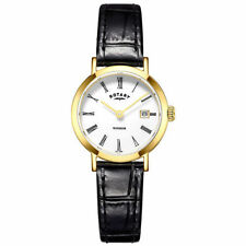 Women's Rotary Round Wristwatches with Date Indicator