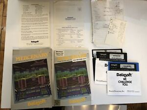 Mercenary by Datasoft for Atari - Vintage Boxed Software