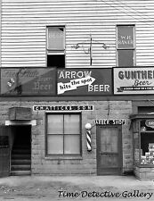 Beer Signs on Tavern, Berwyn, Maryland - 1937 - Historic Photo Print