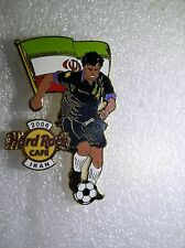 IRAN,Hard Rock Cafe Pin,2006 Worlds Soccer Cup Series with Flag
