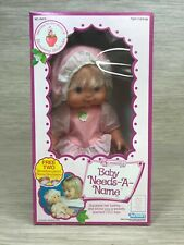 Vintage Strawberry Shortcake Baby Needs A Name Blow Kiss Open Box Estate Quality