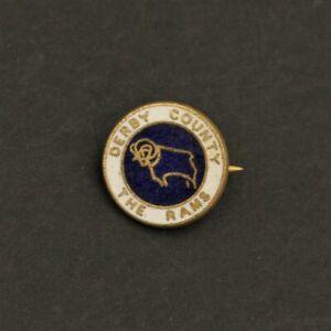 DERBY COUNTY FOOTBALL CLUB PIN BADGE