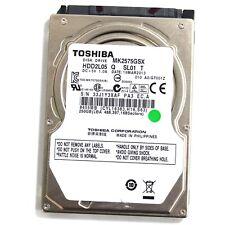 """Toshiba MK2575GSX 2.5"""" 250GB SATA Hard Drive"""
