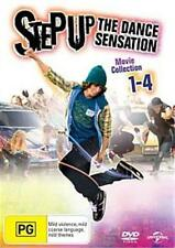 STEP UP The Dance Sensation Movie 1 - 4 : NEW DVD