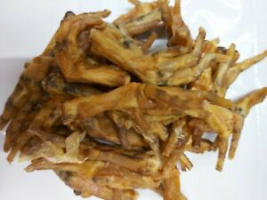 Dried Chicken Feet Tasty Chew Treat For Dogs 250g 500g 1kg 2kg  FREE P&P