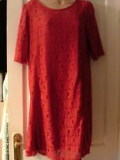 RED DRESS BY DOROTHY PERKINS, SIZE 14