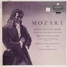 MOZART: Quintet in E Flat Major LONDON UK Vienna Octet NM- Vinyl LP
