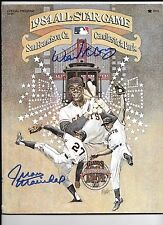 Willie McCovey & Juan Marichal Autograph / Signed 1984 All Star Game Program