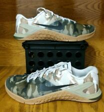 purchase cheap c16d1 47c7c Nike Metcon 4 Camo Mens AH7453-300 Olive Canvas Cross Training Shoes Size 9,