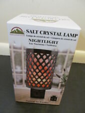 Himalayan Glow Salt Crystal Lamp Nightlight Plug In Purifier 1806
