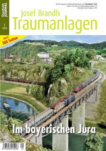 Eisenbahn Journal - Im bayerischen Jura - Josef Brandls Traumanlagen 1/2018