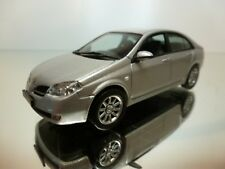J COLLECTION NISSAN PRIMERA - SILVER 1:43 - EXCELLENT - 12