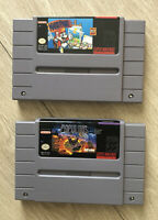 MINT CONDITION MARIO PAINT & POPULOUS SNES LOT GREAT CONDITION FREE SHIPPING CAN