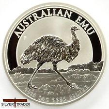 2018 1oz Australian Emu 1 ounce Silver Bullion Coin unc: