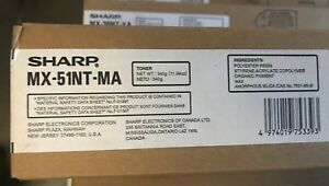 OEM TONER SHARP MX-51NT-MA MX-4110N MX-4111N MX-4140N MX-4141N MX-5110N MX-5111N
