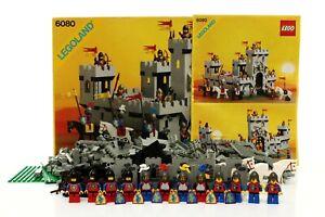 Lego Castle Lion Knights Set 6080 King's Castle 100% complete + instr.+ box 1984