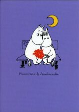 Moomin Moomintroll & snorkmaiden ~ Vierge toutes les occasions carte